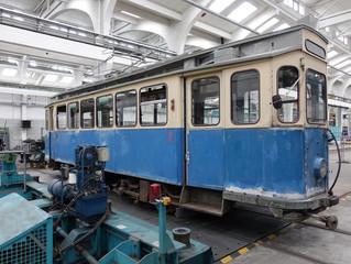 TW 676 (2970) G 1.8 kommt in den Arbeitsstand