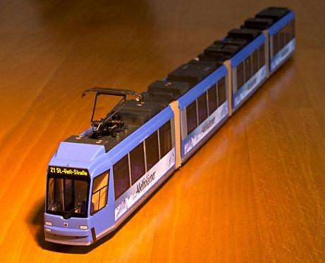 Münchner Trambahn R3 Modell H0