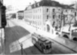 A1-Tw 339 in der Ismaninger Straße einwärts 1908 tram münchen