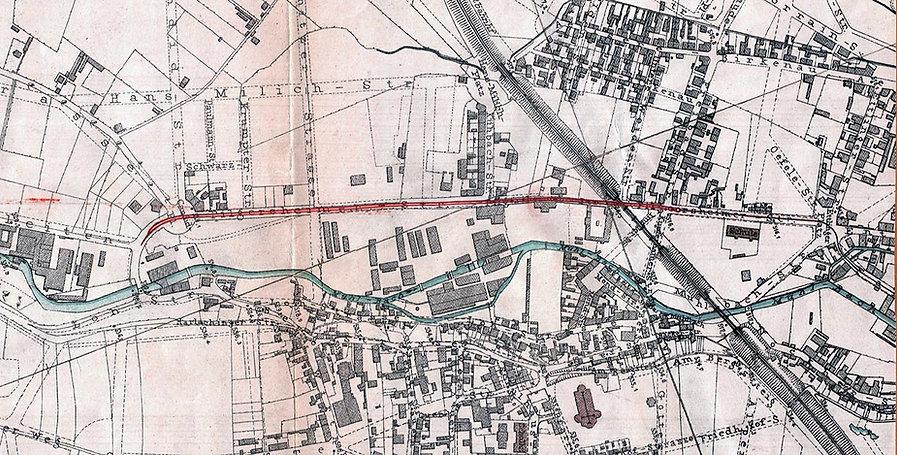1897-01 Plan Verlängerung Freibadstraße