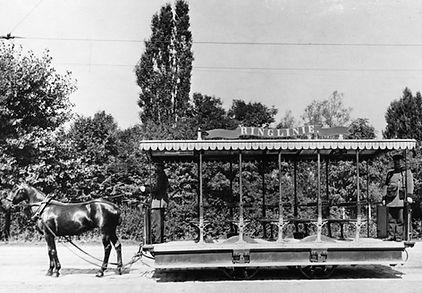 Pferde Trambahn München Munich horse tram