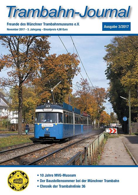 Trambahn-Journal Ausgabe 3   2017