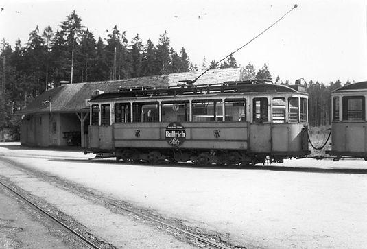 Das Bild vom 441er entstand 1952 in Großhesselohe, Foto: Peter Wagner München tram