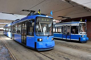 Vorstellung des Redesigns der R 2.2-Wagen am 17.5.2010 münchen tram