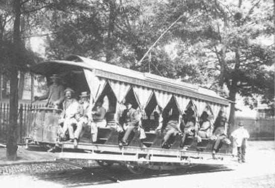 Bild 3 Erste Stangerl-Tram Richmond Virg