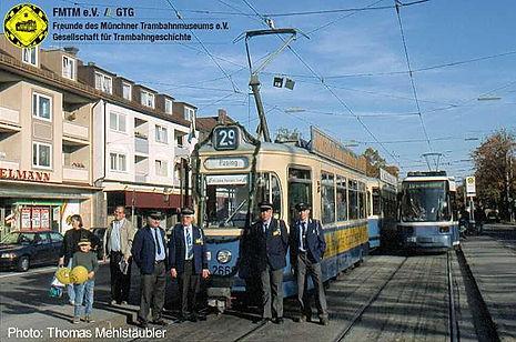 90 Jahre Trambahn nach Pasing tram münchen fmtm