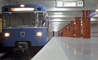 Odeonsplatz U3 TW7203 1971