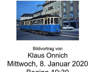 Vortrag 8.Januar 2020: Die Münchner Maximum-Triebwagen