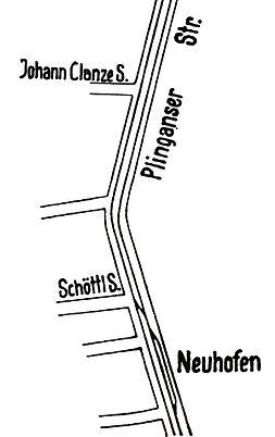 1924-07-04 Streckenplan Versuchsfahrt ne