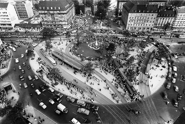 Altstadt)__Sendlinger-Tor-Platz__(1954~)