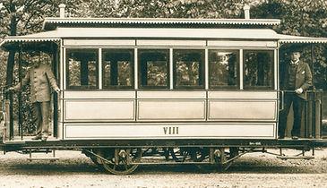 Dampfbahnwagen wagen dampftrambahn tram strssenbahn fmtm