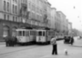 D-Tw 480 in der Maximilianstraße 1936 tram münchen
