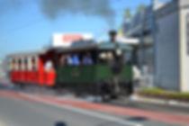 """SETG Dampflok Nummer 11 """"Hellbrunn"""" ist heute noch unterwegs  münchen tram"""