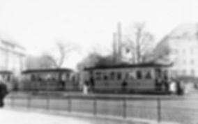 D1-Tw 519 am Sendlingertorplatz auswärts 21.10.1951 tram münchen