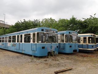 U-Bahn-Wagen zu verkaufen an Liebhaber