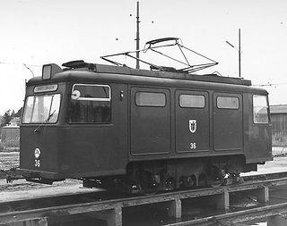 Schienenschleif und Reinigungswagen  Typ: SSR 1.59 Betriebsnummer: 36 Letzte Betriebsnummer: 2903 Stückzahl: 1 Hersteller: Schörling Baujahr: 1958 neu 1963 umbezeichnet in SSR 2.59 tram münchen