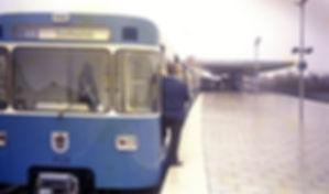 Als die U-Bahn laufen lernte: U6 fährt 1971 zum Goetheplatz tram münchen U-bahn