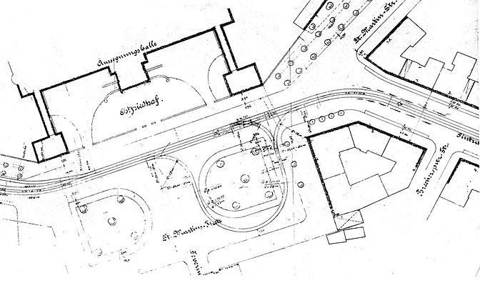 Streckenplan 16 Ostfriedhof komplett_Pan