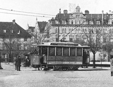 Typ Z wagen tram München
