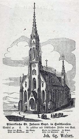 1851 johann Babtist Kirche Haidhausen DE