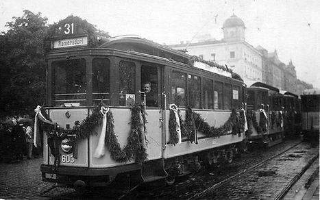 Eröffnungszug 603+e-Bw in Ramersdorf 30.5.1926
