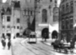 A1-Tw 326 im Tal einwärts 1909 tram münchen