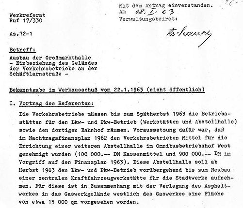 1963-01-18  Bekanntgabe Werkausschuss Gr