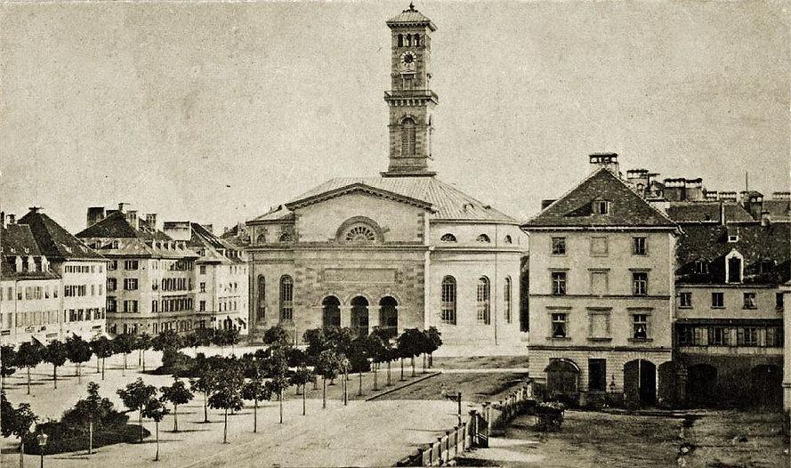 1860 Mathäuskirche München Sonnerstraße stachus karlsplatz FMTM München