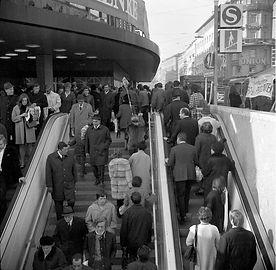 Eröffnung Stachusuntergeschoss 1970 Karlsplatz