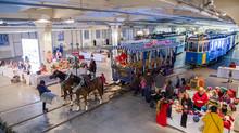 Weihnachtsmarkt im MVG-Museum 16./17.12.2017