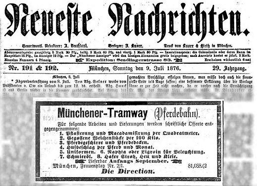 1876-07-09 Neueste Nachrichten Ausschrei