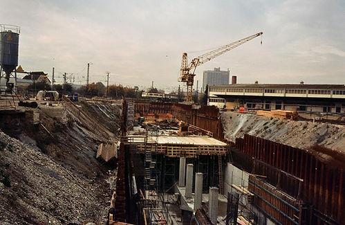 Baustelle U-Bahnhof Heimeranplatz