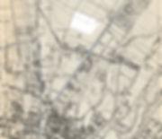 1912 Stadtplan Bauplatz Soxhletstrasse