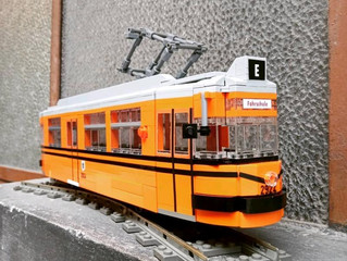 LEGO-Trambahnen made in Turin
