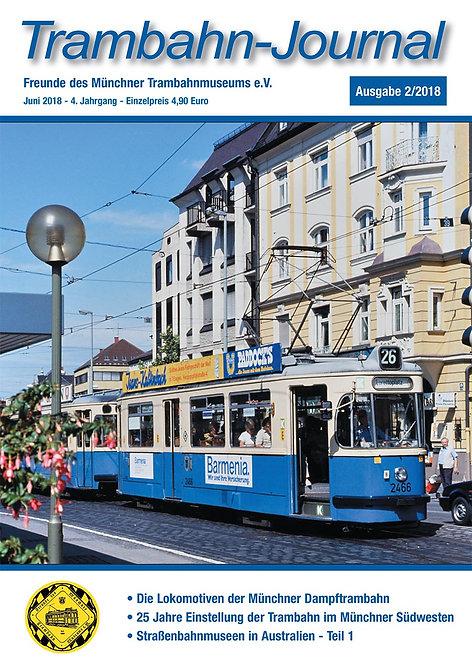 Trambahn-Journal Ausgabe  2   2018