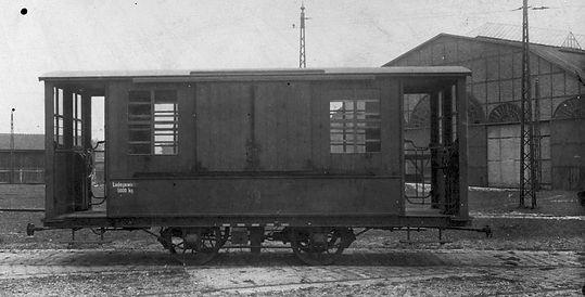 Salzwagen  Typ: s 1.52 Betriebsnummer: münchen Tram