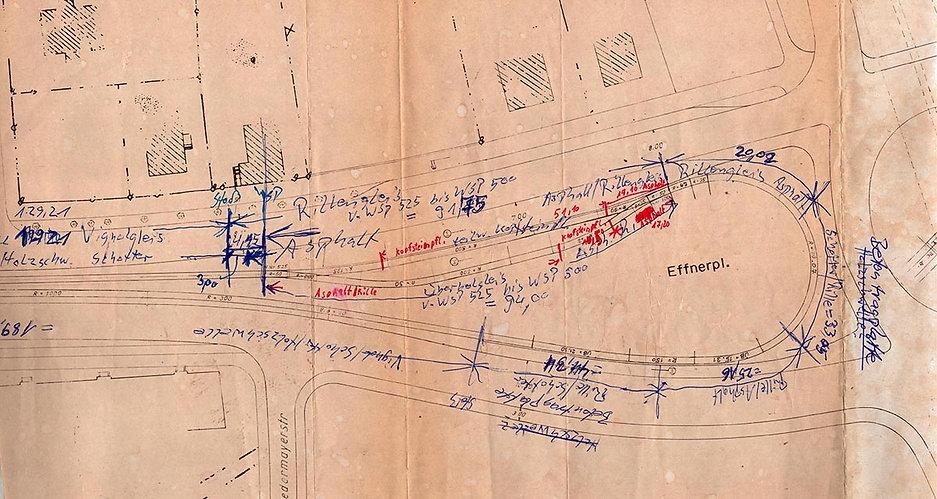 Streckenplan 09 Effnerplatz Schleife  mi