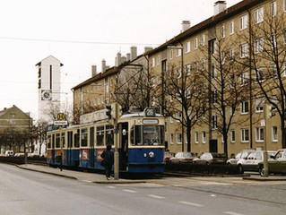 Gondrellplatz - Lorettoplatz 1993 mit der Linie 26
