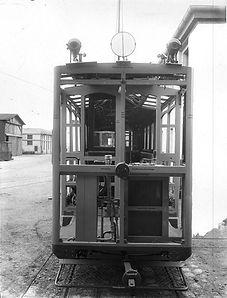 Fahrschulwagen A2  Typ: A 2.2 Betriebsnummer.: 213 münchen tram