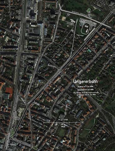 Ungererbahn skizze verlauf bauzeichnung ansicht satellitenbild grosswirt schwabing elektrische
