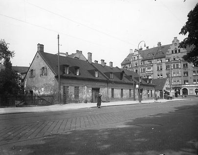 1910_Kurfürstenplatz münchen Trambahn tram FMTM