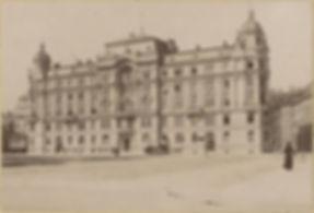 1885 Pferdetrambahn Thirschstrasse Stadt