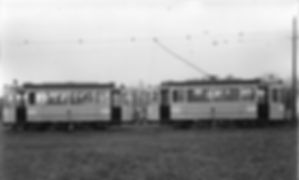 Wagen der Linie 4 mit Anhänger Typ B / b münchen tram