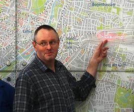 Der Linienplan i Museum ist auf dem neuesten Stand tram münchen fmtm