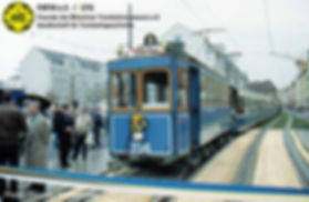 A-Triebwagen 256 kurz vor der Eröffnung am Rosenheimer Platz münchen tram fmtm