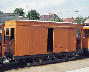 Salzwagen  Typ: s 3.50 im Betriebshof 6 münche tram