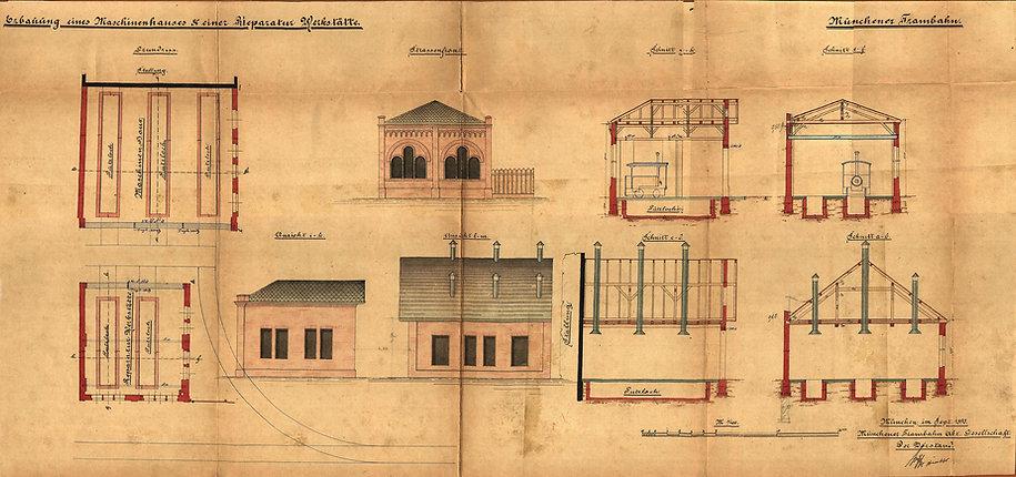Plan Sept.1890 Werkstatt + Lokschuppen.j