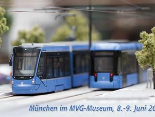 Modell-Trambahn-Ausstellung dieses Jahr in München!