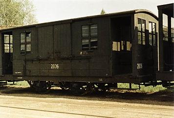 Salzwagen  Typ: s 2.46 Betriebsnummer 2836 münchen tram