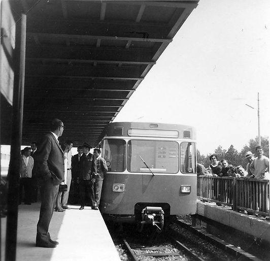 U-Bahn Anlieferung 1967 München Ungererstraße